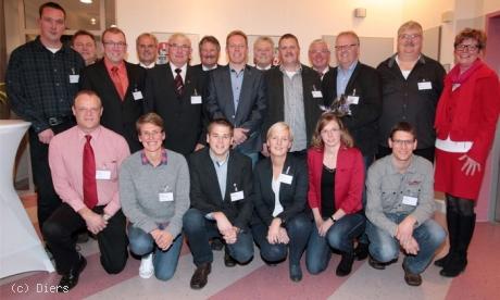 Ehrenamtspreis des Deutschen Fußball Bundes (DFB) an 13 Ehrenamtliche aus dem Emsland verliehen.