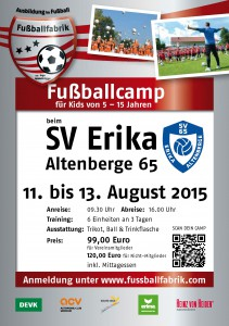 SV ErikaAltenberge Flyer August 2015